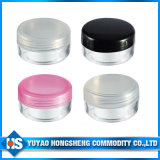 mini frasco cosmético colorido 10ml do plástico do creme de face