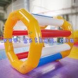 상업 급료 PVC 방수포 팽창식 물 장난감 또는 팽창식 물 Trampolines