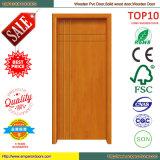 Einfache hölzerne Tür-hölzerne Schlafzimmer-Tür-Maschine PVC-Tür