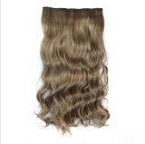 Form-preiswerte Frauen-lange Wasser-Wellen-Haar-Extensionen mit Klipp