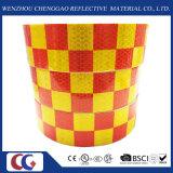 새로운 사려깊은 급료 빨간 노란 Chequer 테이프 (C3500-G)