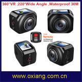 360度のVr WiFiのスポーツの処置のカメラ220度の広角のスポーツのカメラ