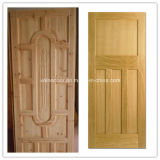 Porte en bois évaluée de bon incendie de quantité de porte intérieure avec le certificat des BS