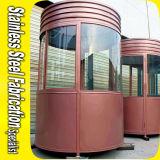 Haltbares Puder-überzogener Stahlsicherheits-Kiosk