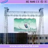P6 광고를 위한 옥외 Fullcolor 발광 다이오드 표시 임대료 (세륨 RoHS)