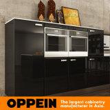 تصميم حديث أسود خشبيّة طلاء لّك بيع بالجملة تضمينيّة مطبخ خزانة ([أب15-ل15])