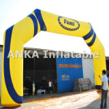 Arco de balão inflável de impressão completa para eventos promocionais