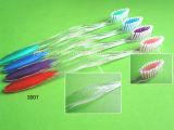 India Market Cepillo de dientes de mango transparente para adultos