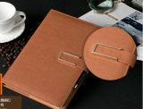 2016/2017 de couro gravado ou de plutônio cobrem o diário e cadernos diários do planejador