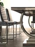 ホームのためのArmrestの椅子のない安く黒い革