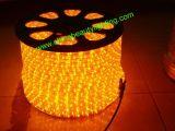 LED que enciende la luz de neón de la cuerda de 3 alambres LED