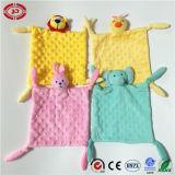 유아 안전한 최고 연약한 귀여운 매듭을 짓 손 건조한 담요