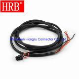 コネクターをワイヤーで縛るために二重列ワイヤーを収容するソケットにマイクロ合いなさい