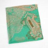 Form-Herbst-lange Polyester-Voile-Frauen-grüner Schal