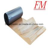 Film di materia plastica dell'imballaggio trasparente su rullo