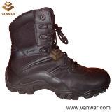 Мы наилучшим образом построили черные кожаный тактические воинские ботинки (WTB033)