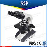 두눈 생물학 현미경을 미끄러지는 FM-F6d 40X-1000X LED