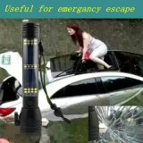 Lanterna elétrica solar Multi-Functional do salvamento do escape da tocha de 2W 10-LED com 2000mAh Powerbank Lh-St1648