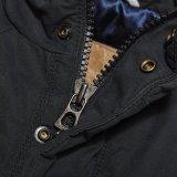 2015의 Mens 싸게 무거운 세탁된 면 재킷