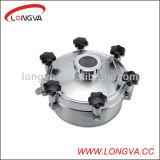 Stainless sanitario Steel Presure Manhole Cover con Sight Glass