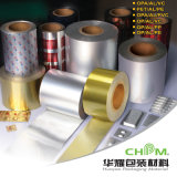 Con soporte de papel laminado de papel del papel de aluminio para el Envasado de Alimentos Medicina