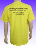 T-shirt promotionnel du coton de 2016 hommes