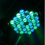 Indicatore luminoso capo mobile dello stroboscopio dello zoom della lavata del LED