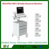 Máquina enfocada de intensidad alta de Hifu del ultrasonido de Hifu de la atracción grande del mercado 2016, máquina Mslhf02 de la belleza de Hifu