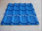 Hoja acanalada galvanizada del material para techos de la INMERSIÓN caliente
