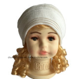 Новый симпатичный шлем Beanie хлопка малышей и женщин акриловый с Earflap и подкладкой ватки