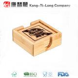 Cadeau promotionnel de caboteur en bambou carré