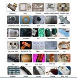 حار بيع ليزر تأشير آلة للأكريليك، crytal ووالزجاج والجلود، ويمول، والمعادن، ورقة