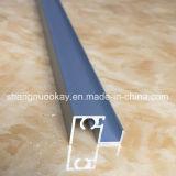 Perfil de la puerta deslizante de la alta calidad para la puerta del guardarropa