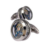 GroßhandelsCustom Metal Movement Cufflinks für Mens Shirts TM-221