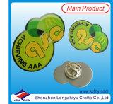 Metallunbelegtes magnetisches Namensabzeichen zu Großhandelspreis