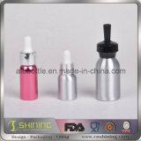 Cuentagotas de vidrio Cuentagotas de aluminio para botellas E-Liquid