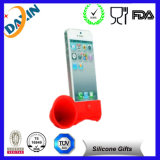 Свинья Shaped Silicone Suction Rubber Phone Stand Holder для Mobile