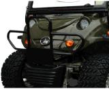 Carro levantado da caça Buggy off-Road elétrico com 4 Seater & cesta traseira