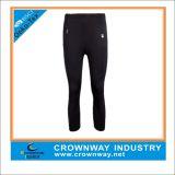 Calzamaglia di compressione di Legging dei pantaloni di sport delle donne con stampa di marchio