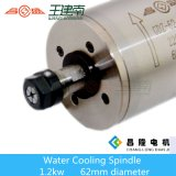 1.2kw 24000rpm 400Hz конструированное для шпинделя водяного охлаждения металла