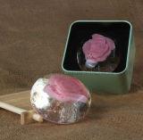 Jabón de tocador hecho a mano de la escritura de la etiqueta privada del OEM para los regalos