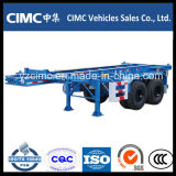 Cimc 40FT 세 배 차축 해골 트레일러/골격 트레일러