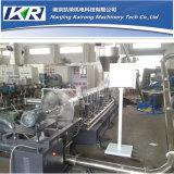 Plástico que granula la máquina de granulación plástica del corte de la basura caliente del estirador