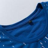 중국 작풍 형식 의류는 남자를 위한 2개의 음색 t-셔츠를 놓는다