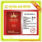 Schlüsselkarte des RFID Hotel-MIFARE für Zugriffssteuerung