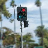 가득 차있는 공 빨간 황록색 색깔 조정 교통 신호 빛