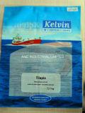 De plastiek Bevroren Zak van Zeevruchten