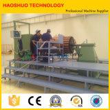 自動変圧器のコイル巻線機械