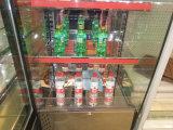 стеклянная дверь 4sidle с витриной индикации 3 полок для напитка Dink выставки в всех сторонах