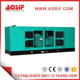 generador insonoro verde silencioso de 800kVA 640kw Cummins